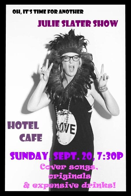 Hotel Cafe FLyer 1